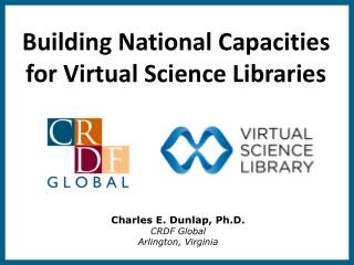 Building National Capacities for Virtual Science Libraries
