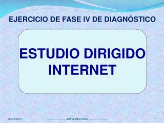 ESTUDIO DIRIGIDO INTERNET