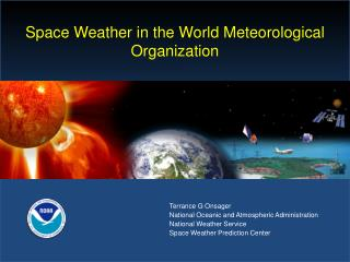 Space Weather in the World Meteorological Organization