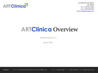 ART Clinica Overview