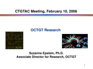 CTGTAC Meeting, February 10, 2006