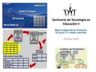 Seminario de Tecnología en Educación II