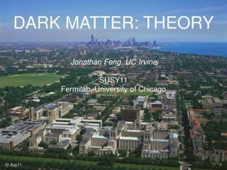 DARK MATTER: THEORY