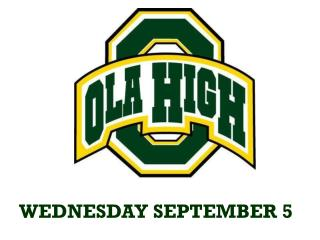 WEDNESDAY SEPTEMBER 5