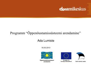 Programm ��ppen�ustamiss�steemi arendamine�