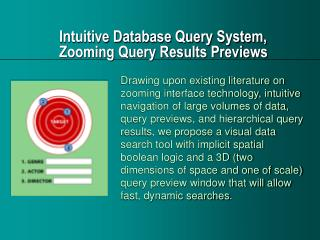 Intuitive Database Query System, Zooming Query Results Previews