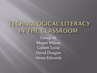 technological literacy in the classroom