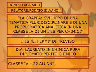 ROMOR LUCA A013