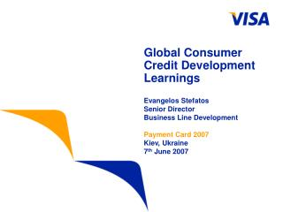 Global Consumer Credit Development Learnings