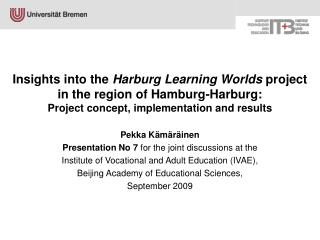 Pekka K�m�r�inen Presentation No 7  for the joint discussions at the