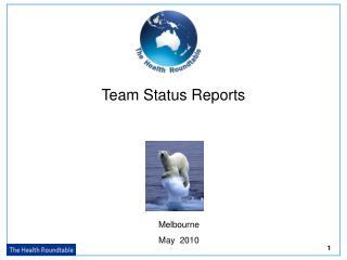Team Status Reports