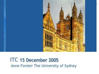ITC  15 December 2005