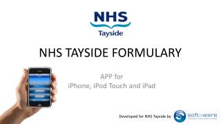 NHS TAYSIDE FORMULARY