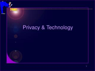 Privacy & Technology