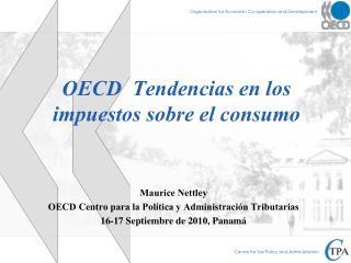 OECD  Tendencias en los impuestos sobre el consumo