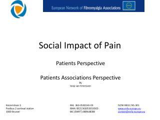 Social Impact of Pain