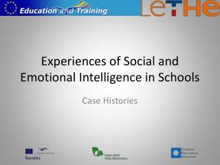 Experiences of Social and Emotional Intelligence in Schools