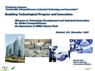 Gabriele Gatti  Director Marketing & International Relations