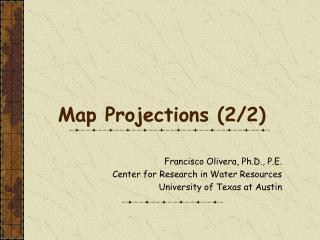 Map Projections (2/2)