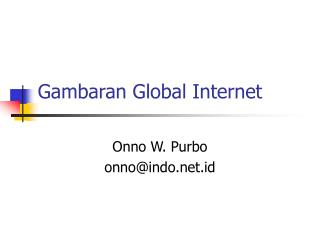 Gambaran Global Internet