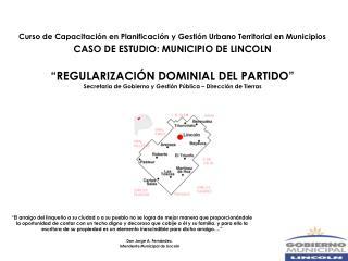 Curso de Capacitación en Planificación y Gestión Urbano Territorial en Municipios