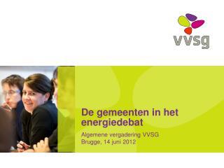 De gemeenten in het energiedebat