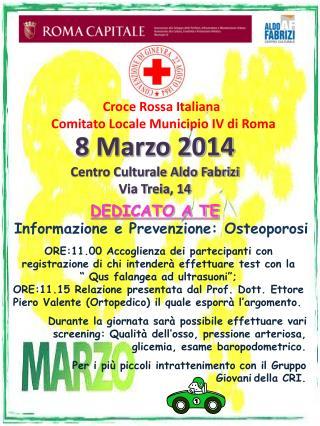 Croce Rossa Italiana  Comitato Locale Municipio IV di Roma