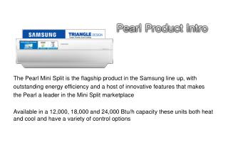 Pearl Product Intro