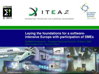 Laying the foundations for a software-intensive Europe with participation of SMEs