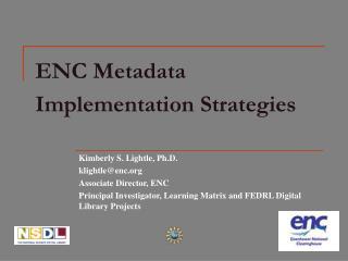 ENC Metadata Implementation Strategies