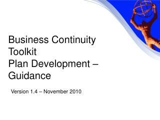 Business Continuity Toolkit  Plan Development – Guidance