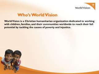 Who's World Vision