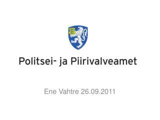 Ene Vahtre 26.09.2011
