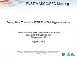 Boiling Heat Transfer in ITER First Wall Hypervapotrons