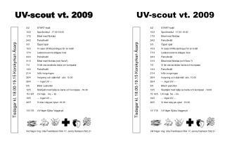UV-scout vt. 2009