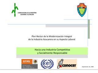 Hacia una Industria Competitiva  y Socialmente Responsable