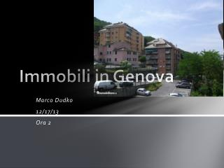 Immobili  in  Genova