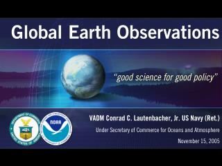 Global Earth Observations