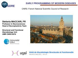 Unité de Glycobiologie Structurale et Fonctionnelle UMR 8576 CNRS/USTL – IFR 147