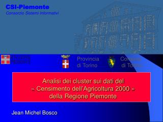 CSI-Piemonte Consorzio Sistemi Informativi