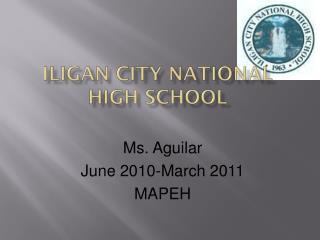 Iligan City National High School