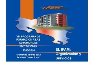 VIII PROGRAMA DE FORMACION A LAS AUTORIDADES MUNICIPALES  2006-2010