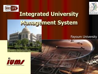 Integrated University Management System
