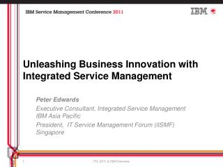 Unleashing Business Innovation with Integrated Service Management