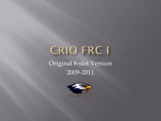 cRIO FRC I