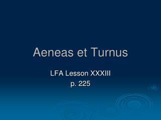 Aeneas et Turnus