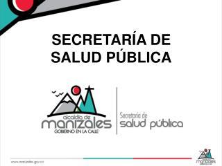 SECRETARÍA DE SALUD PÚBLICA