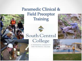Paramedic Clinical &  Field Preceptor  Training