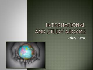 International and Study Aboard