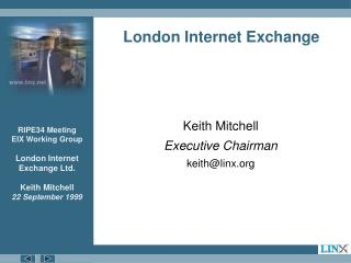 London Internet Exchange
